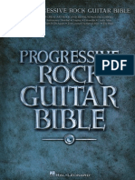 Progressive Rock Guitar Bible - 2009