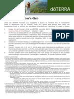 Founders Club Europe (German) Europe 7657