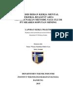 Laporan KP - Analisis Beban Kerja Mental Pekerja Reagent Area