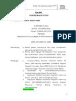 2. Format Dokumen Akreditasi.