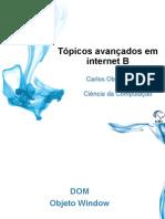 Topicos Internet b Dom Window