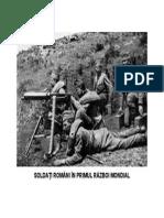 Soldaţi Români În Cel De