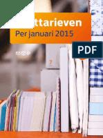 Tarievenkaart Januari 2015 PostNL Tcm10 18532