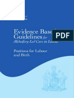 Positions for Labour and Birth