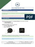 PP Use Altimeter Setting