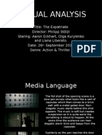 Tenxtual Analysis - The Expatriate