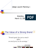 Planning 1 - Branding