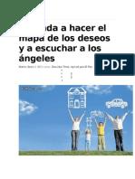Aprenda a Hacer El Mapa de Los Deseos y a Escuchar a Los Ángeles