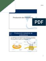 Producción antibióticos