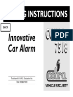 Alarm Cobra 7518