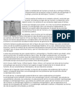 Antropologia Definicion, Como Ciencia, Como Medicina y Disciplina
