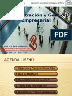 Administración y Gestión Empresarial II