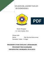 Sistem Tata Kelola Kehutanan Di Indonesia (Eka Nurriza Khairunnisa)