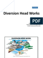 1..Diversion Head Works