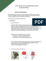 Komponen Aktif Dan Komponen Pasif Elektronika (Sk)