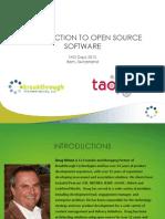 Doug Wilson TAO Days 2013 North America Roadmap Presentation 1