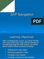 SAP Navigation - Revised Apr 29 2008