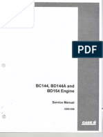 BC144 BD144A BD154 Engine Service Manual