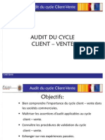 Audit Cycle Client - Vente