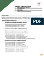 Plan de Tratamiento Fonoaudiológico