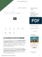 La Revolución Social de Internet - Nubemia