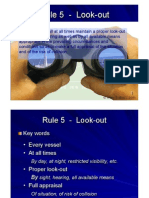 Rule 05 - Look-out