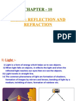 light-reflection and refraction ppt  1