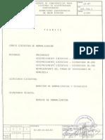 Norma CADAFE 61-87 Bancadas de Distribución