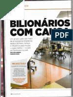 20150624 Matéria Revista Exame Bilionários Com Causa