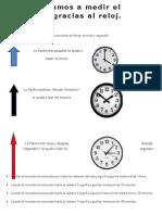 El Reloj Te Ayuda a Medir El Tiempo