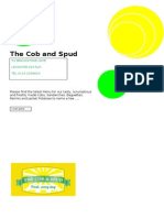 the cob and spud menu - nov 2015