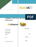 chilexpress tipos de ventas y clientes