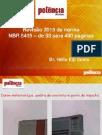 06 FÓRUM POTÊNCIA 2015 - HÉLIO SUETA - Pg 98 - Imagem Barramento e GAS Na Equipotencialização