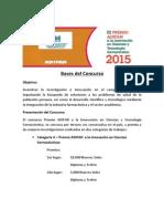 Bases III Premio Adifan 2015