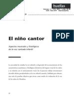 El Niño Cantor Ana Gloria Ortega