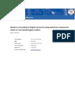 Semantic processing of English sentences using statistical computation based on neurophysiological modelsMitchell Manuscript
