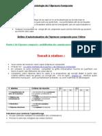 TD – Méthodologie de l' Epreuve Composée
