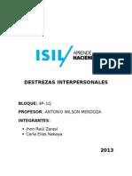 Destrezas Interpersonales - Gestión Del Cambio