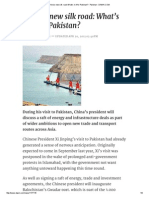 China's new silk road_ What's in it for Pakistan_ - Pakistan - DAWN.pdf
