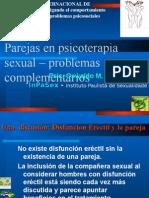 Parejas en Psicoterapia Sexual Problemas Complementarios