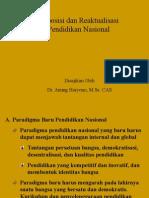 (3)Reposisi dan Reaktualisasi Pendidikan nasional final          revision..ppt
