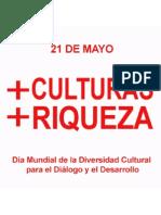 DIVERSIDAD CULTURAL 21 DE MAYO DIA MUNDIAL
