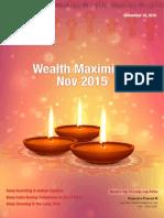 Wealth Maximizer Karvy Nov 15