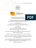 Semi Presidentialism as Power Sharing Constitutional Reform After the Arab Spring PDF