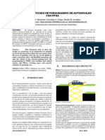 Sistema Automatizado de Parqueadero de Automoviles Con Fpga.
