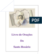 Livro de Oracões Do Santo Rosario