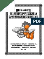 Materi Bpd Lengkap