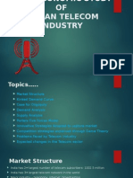 Microeconomic study of Indian Telecom Sector