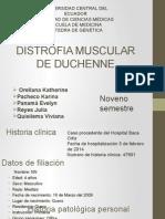 Distrofia Muscular de Duchenne Final