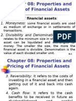 8.Properties and Pricing of Fin. Assets
